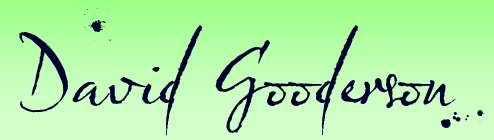 logo: David Gooderson (playwright/actor/director) website