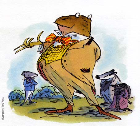 Rat, Toad, Badger and Mole: 'The Wind in the Willows' play, London